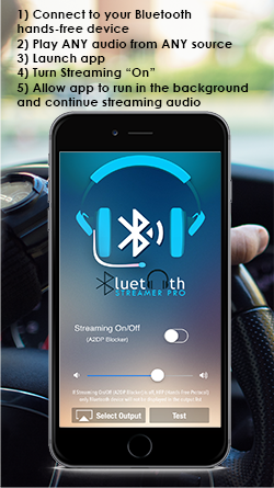 Stream audio over Bluetooth Hands-Free (HFP) | Bluetooth